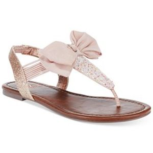 Material Girl Swan Pink Slingback Sandal